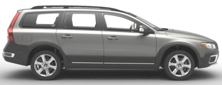 Right side gray 2008 Volvo XC70 Car Picture