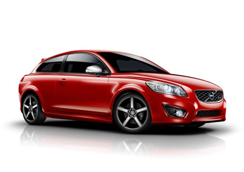 Front Right Red 2010 Volvo C30 R Design Car Picture