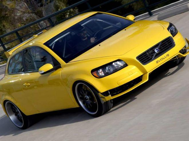 2007 Volvo C30 Evolve Front Right Concept Car Picture