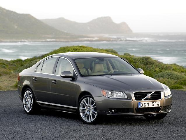 Front right gray 2008 Volvo S80 Concept Car Picture
