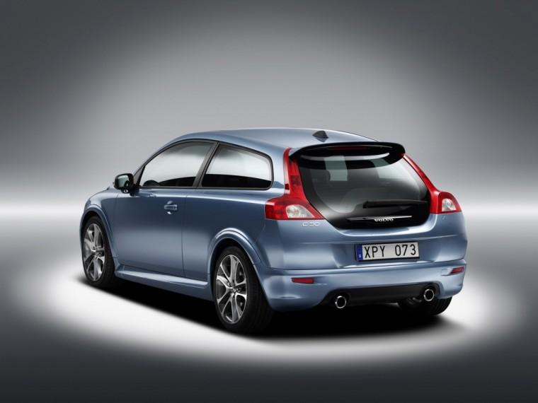 Rear left blue 2009 Volvo C30 Car Picture